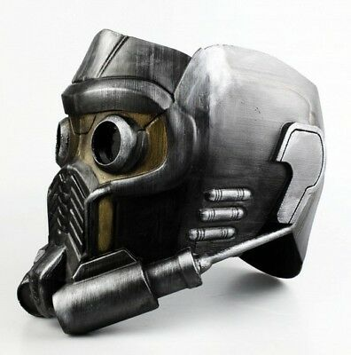 guardians of the galaxy star lord mask maschera stampato 3D