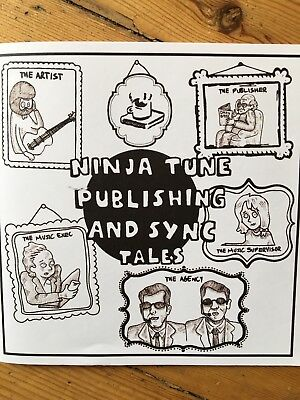 Jeffrey Brown - Limited Edition Ninja Tunes Promo Mini Novella And 2 Cd Sampler
