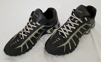 more photos 07f4a 52414 Mens Size 12 Black Grey Nike Shox O Leven Flywire Running Shoes 429869-020