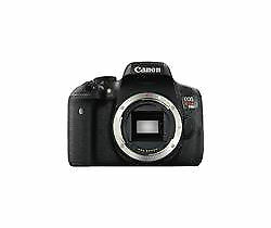 Canon EOS Rebel T6i / EOS D750 24.2MP Digital SLR Camera - Black (Body Only)
