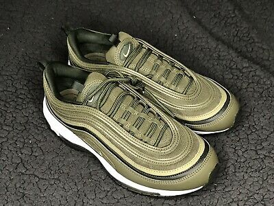 108d84fe20 Nike Air Max 97 Women's Shoes Olive Green/Neutral Olive/White 921733-200