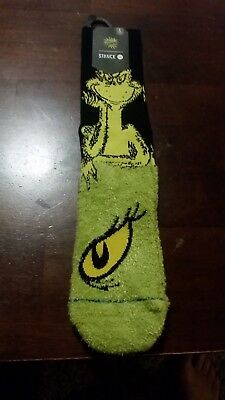 NEW w/tags Dr. Seuss How The Grinch Stole Christmas Stance Socks Large Mens 9-12