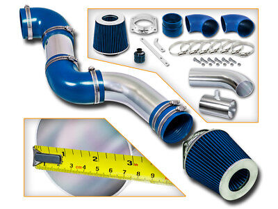 SPORT AIR INTAKE KIT + BLUE DRY FILTER FOR Mercury 96-02 Grand Marquis 4.6L V8
