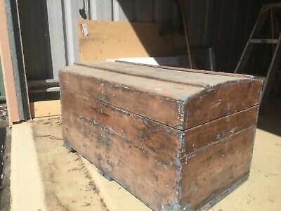 old Shipping trunk from holland
