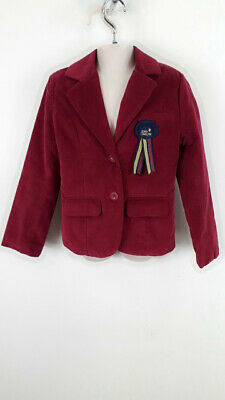 Girls French Connection Button Up Smart Coat Jacket Kids Size 6-7 Years