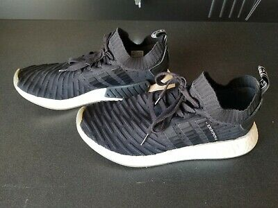 f3cce999f Adidas Mens NMD R2 PK Primeknit Japan Pack Shoes Size US 10 Boost Black  White