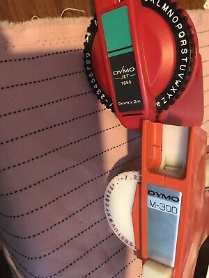 Unwanted Vintage Dymo Machines And Tape