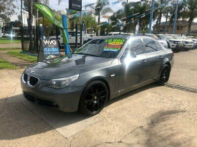 2005 BMW 525i E60 Grey Automatic A Sedan