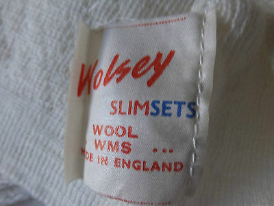 Wolsey Cream Wool Ladies Underslip / Vest