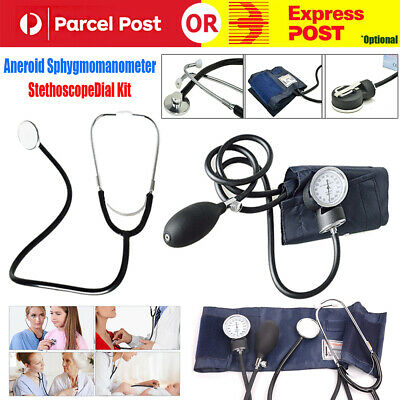 Aneroid Sphygmomanometer Arm Blood Pressure Monitor BP Cuff Sprague Stethoscope