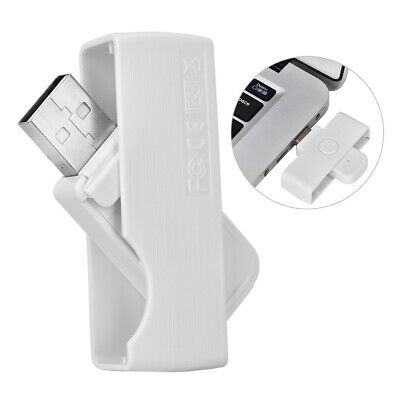 Reversible USB Contact Smart Card Reader CAC Common Access Military ID Chip ATM