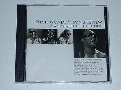 STEVIE WONDER - SONG REVIEW . A GREATEST HITS COLLECTION (Album CD)