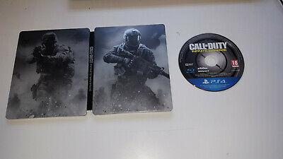* Playstation 4 Game * CALL OF DUTY INFINITE WARFARE STEELBOOK EDITION * PS4