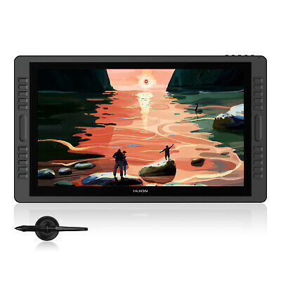 HUION 21.5 Inch Graphics Drawing Tablet Monitor 8192 Battery-free KAMVAS Pro 22