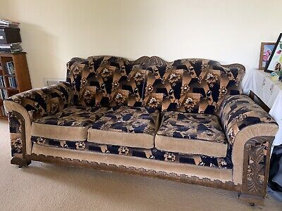 Art Deco Club Lounge 5 Piece Suite - 1930's