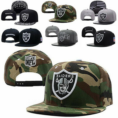 Fashion Unisex Snapback adjustable RAlDERS Baseball Hats Casual Sun Sports Cap