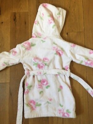 The Little White Company Dressing Gown Age 18-24 Months Good Condition