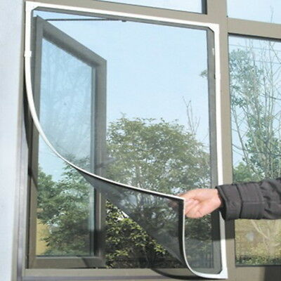1/10 WINDOW MESH Screen Net For Bugs Fly Insect Mosquito Grill Screen Cover 2019