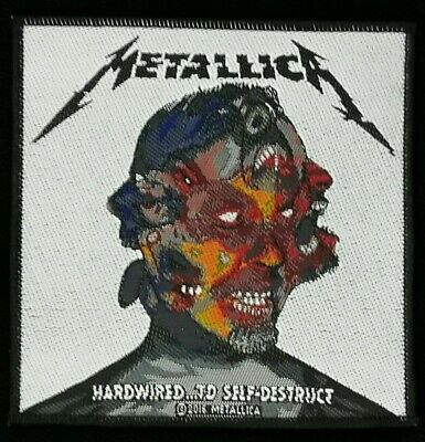 Metallica - Hardwired To Self Destruct Patch - metal band merch