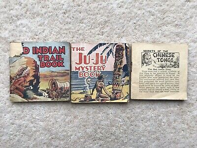 3 X Free Gift Booklets - Adventure Comic #699 - Dc Thomson - 1935