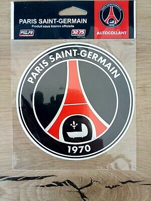 Autocollant sticker logo PSG officiel (ancien) 12CM