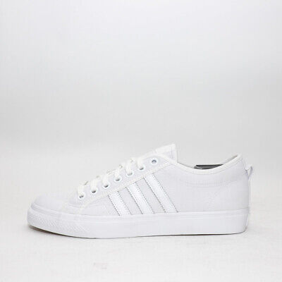 los angeles b1d5e 04834 Mens Adidas Originals Nizza Lo White White Trainers (CMF3) RRP  £64.99