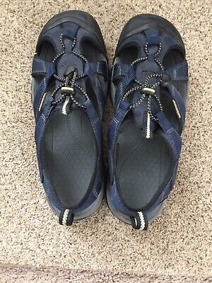 eb7ab4632fcd KEEN MEN S NEWPORT H2 Sandal 1014187 Midnight Navy Feather Gray SIZE ...