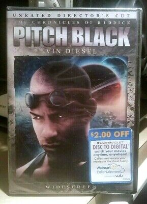 Pitch Black (Widescreen Unrated Director's Cut) BRAND NEW DVD