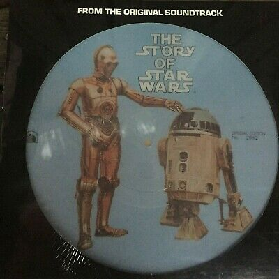 RARE PICTURE DISC numbered SPECIAL EDITION rare symphony ‎The Story Of Star Wars