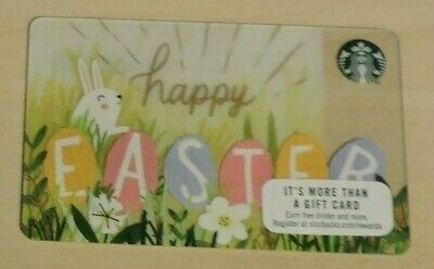 Starbucks Usa Easter 2017 Gift Card. No Value.collectors Item