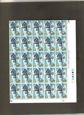 Gb British 1972 Coast Guard Full Sheet 100 Mnh Stamps Collection Collectables