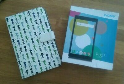 "Alcatel ""Pixi 4"" Tablet 7"" WiFi Android.... WHITE + case + box"