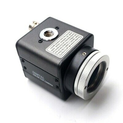 "IVS CCAM1-SVHS Machine Vision Camera 1/3""CCD Color BNC S-Video C-Mount 12VDC"