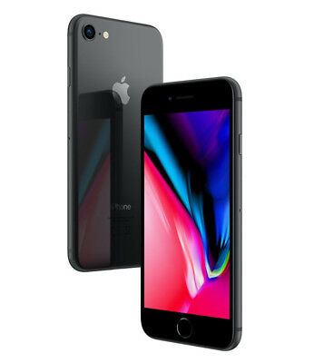 Apple Iphone 8 64Gb Nero Gray Gar 24Mesi 64 Gb Grado A- Attivato Il 25/10/2018