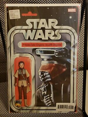Star Wars #64 Action Figure Variant Princess Leia Boushh Disguise Vf- Book