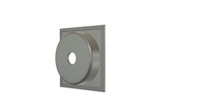 CUSTOM MADE Recessed, Extended, Hole Lens Board for SINAR 140x140