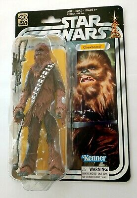"""Star Wars CHEWBACCA 40th anniversary HASBRO Black Series Vintage Collection 6"""" !"""