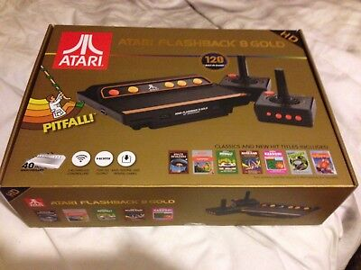 Atari Flashback 8 Gold Hd With Wireless Controllers Rare!!!!! Sold Out!!!!