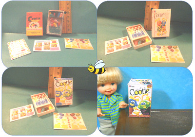 Barbie Doll 1:6  Cootie Game for Tommy or Kelly