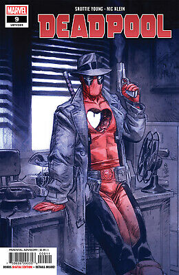Deadpool #9 (Lgy #309) - 1St Print - Marvel - Bagged And Boarded. Free Uk P+P
