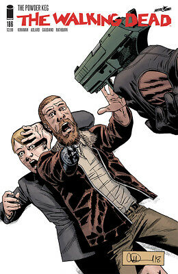 The Walking Dead #186 - 1St Print - Image - Bagged And Boarded. Free Uk P+P