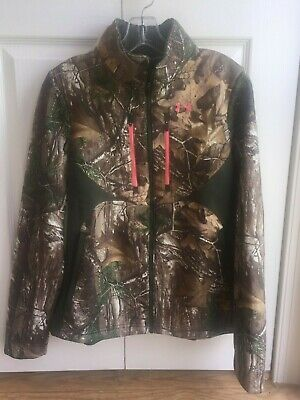 e8752c7f6e704 Under Armour Women's Speed Freek Cold Gear Scent Camo Jacket - Size Small