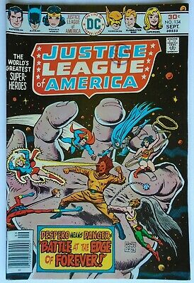 Justice League Of America Vol 1 #134 September 1976 (Vf Condition)