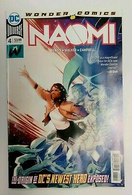 Naomi  #4 Cover A 1st Print Bendis DC 2019 NM