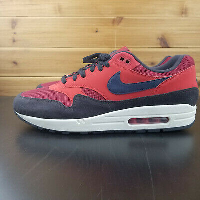 online store 63eab c02a4 Nike Air Max 1 CLASSIC RED CRUSH NAVY AH8145-600 NEW 2018 Men s Size 12.5