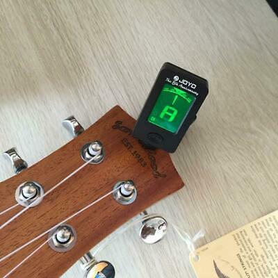 Clip-on LCD Digital Chromatic Electronic Guitar Tuner Bass Violin Ukulele D15 BE