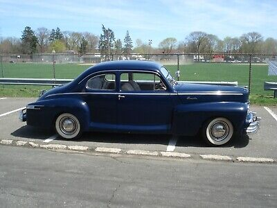 1947 Lincoln 76H Series CLUB COUPE 1947 Lincoln Club Coupe zephyr Business coupe 76H Zephyr V12