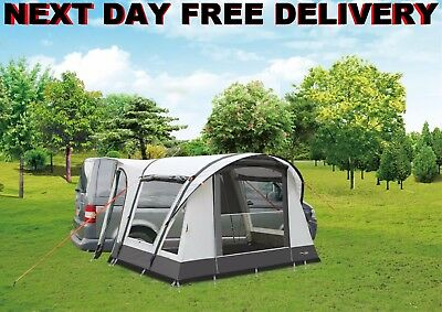 New Camptech MotoAir Inflatable Campervan Awning for VW T3 T4 T5 with Inner Tent