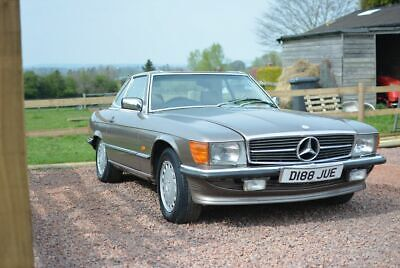 1987 Mercedes 420SL (R107) facelift; for restoration, Spare or Repairs, 4.2 V8