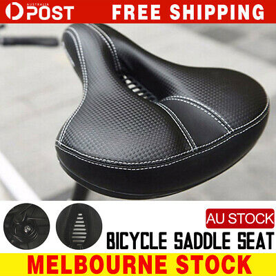 Road MTB Mountain Bike Bicycle Saddle Spring Seat Soft Padded Cushion Cover